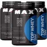 Combo 3 Top Whey 3W 900g - Max Titanium