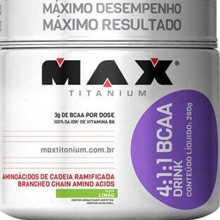 Bcaa Drink 280g - Max Titanium