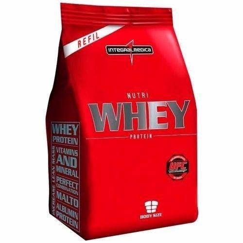Nutri Whey Protein 907g Refil - Integralmedica