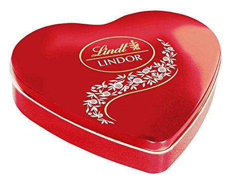 Lindt & Sprüngli LINDOR Heart Box 48 g