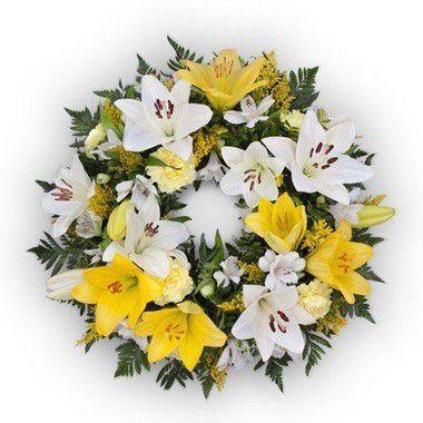 Coroa de Flores Brasília especial 5 | Faixa de Homenagem Grátis