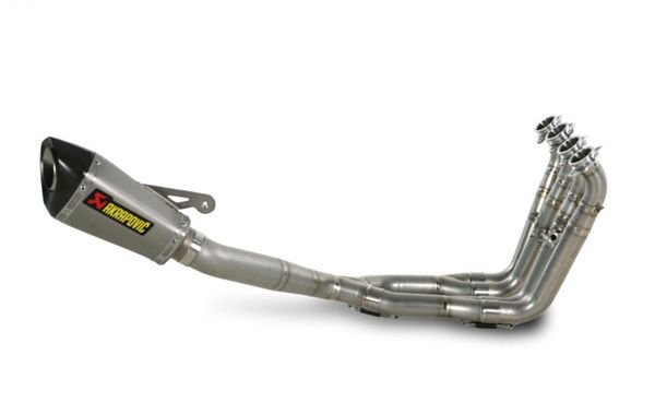 AKRAPOVIC BMW S1000 RR 11/14 ESCAPAMENTO FULL RACING TITANIUM/INOX