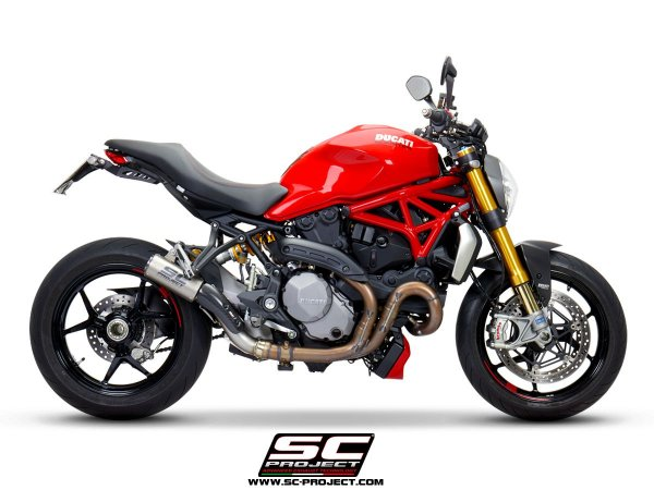 SC-PROJECT DUCATI MONSTER 1200 S CR-T CARBONO 2014 A 2017