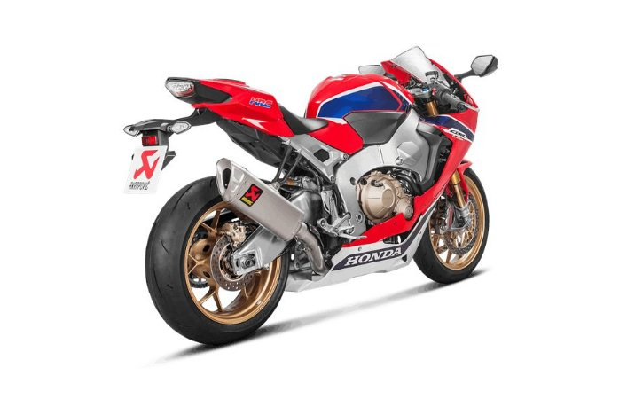 AKRAPOVIC HONDA CBR 1000RR 2018/2019 FULL SYSTEM EVOLUTION
