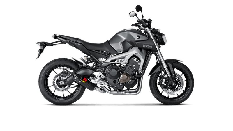 AKRAPOVIC YAMAHA MT-09/FZ-09 ESCAPAMENTO RACING FULL CARBONO