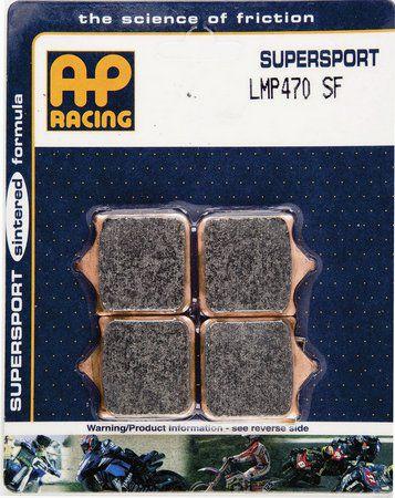 AP RACING PASTILHA DE FREIO BMW S1000RR 2010 A 2019 DIANTEIRO LMP 470SF