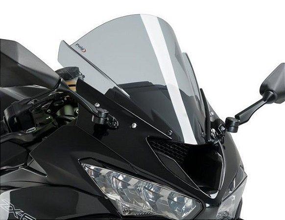 PUIG RACING KAWASAKI ZX 6R ZX 636 BOLHA FUME CLARO 2019 2020 3177H
