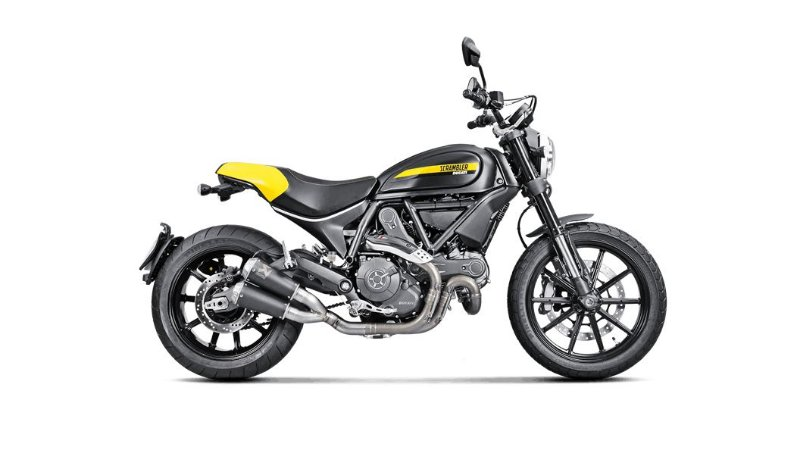 AKRAPOVIC DUCATI SCRAMBLER ICON/URBAN/ENDURO/CLASSIC/FULL THROTTLE - PONTEIRA (14-19)