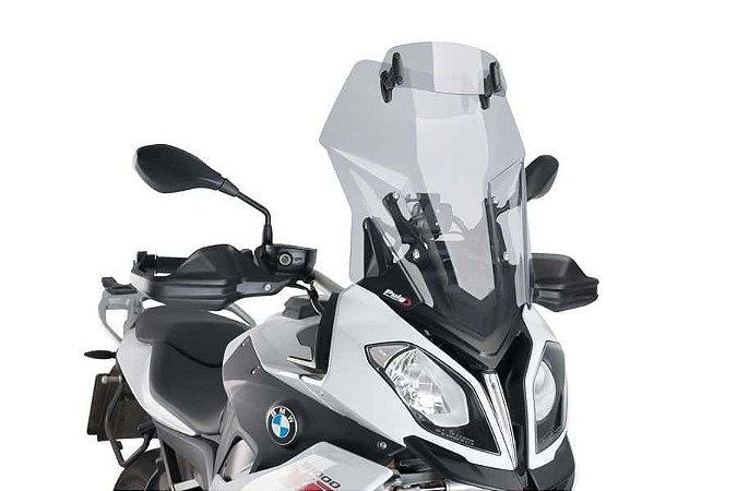 PUIG TOURING COM DEFLETOR BMW S1000XR BOLHA FUMÊ CLARO 7620H