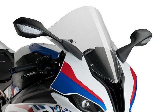 BOLHA PUIG BMW S1000RR 2020/2021 R RACER TRANSPARENTE(CRISTAL)  3641W
