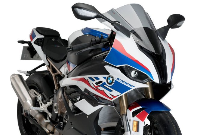 PUIG DOWNFORCE SPOILER BMW S1000RR 2020 PRETO