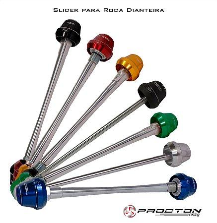 PROCTON SLIDER EIXO DIANTEIRO GSX-R 750 /GSX-R 1000/ BKING  / HAYABUSA