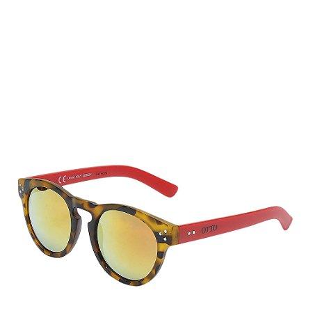 Óculos Solar Prorider Tartaruga/Vermelho - FATHON