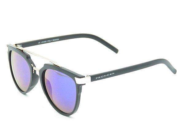 Óculos Solar Prorider preto&dourado fosco 3887