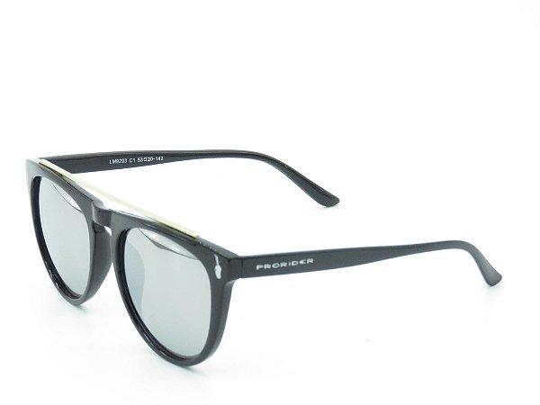 Óculos Solar Prorider Preto Fosco 3903