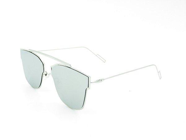 Óculos solar Prorider prata  4974