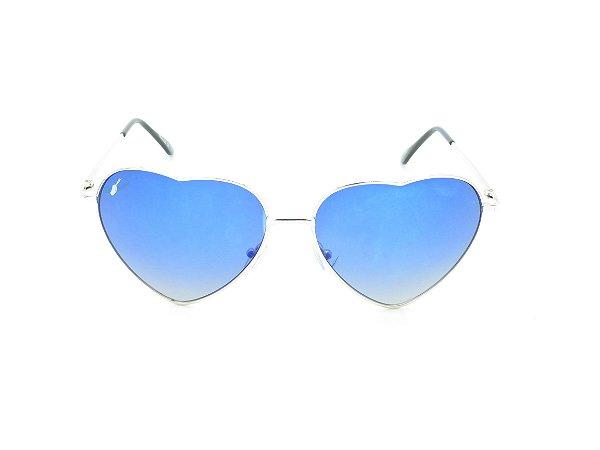 Óculos solar Prorider prata 5006