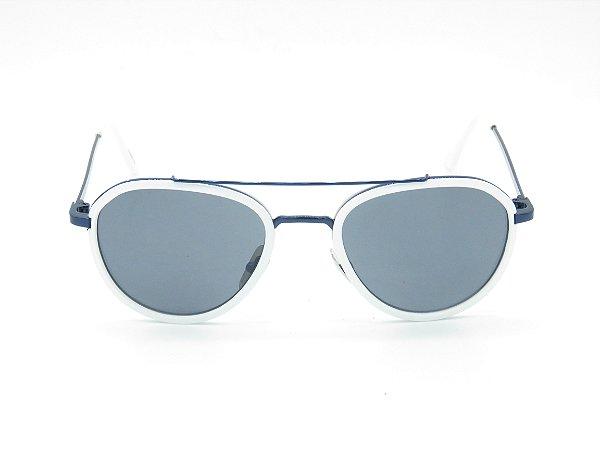 Óculos Solar Branco com Preto Prorider 5205