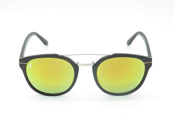 Óculos solar Prorider marrom fosco com lente espelhada colors 5236