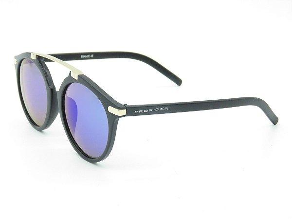 Óculos solar Prorider preto com dourado 5250