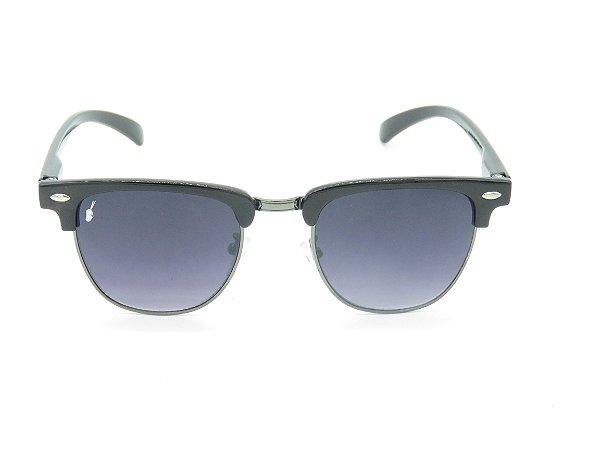 Óculos Solar Prorider Preto e Grafite com Lente Degrade - 5270
