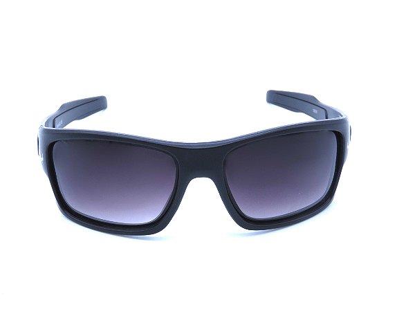 Óculos solar Prorider preto fosco com lente degrade 19805