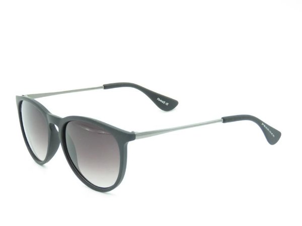 Óculos solar Prorider preto fosco com prata B4171