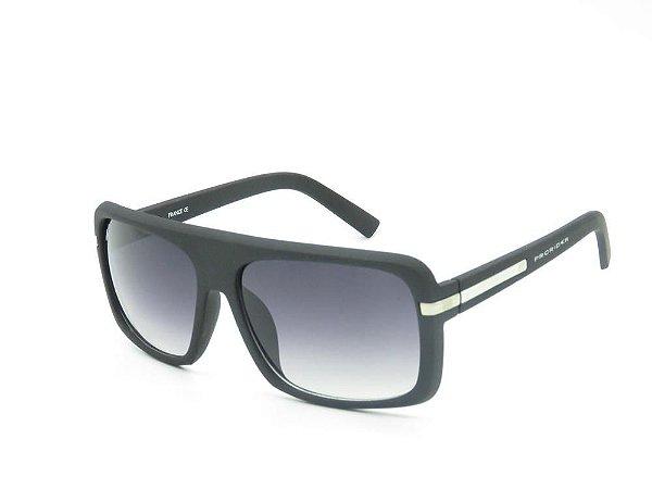 Óculos solar Prorider preto fosco com detalhe em dourado GP200