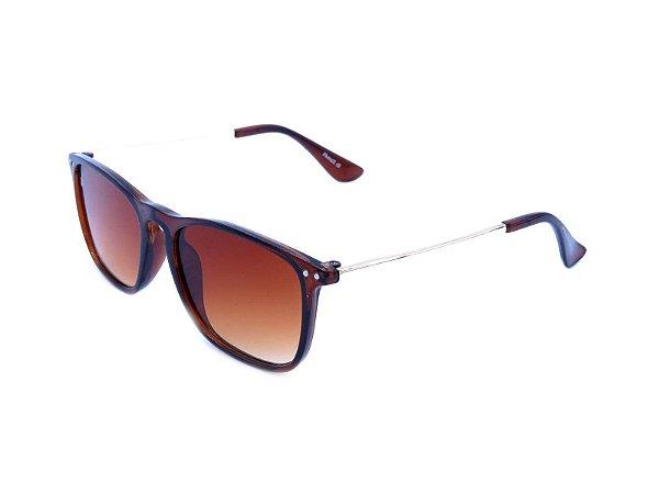 Óculos solar Prorider Marrom com Dourado - Z22