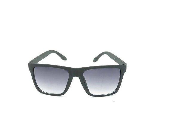 Óculos solar Code Blue preto fosco com lente degrade GP203-1