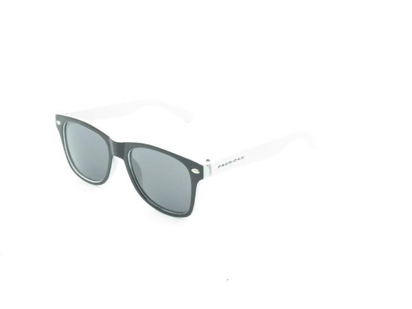 Óculos solar Prorider Infantil preto e branco fosco BP18D