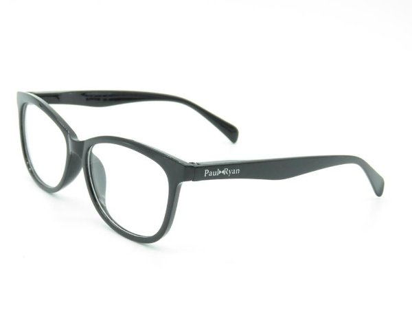 Óculos de grau Paul Ryan preto fosco 51121