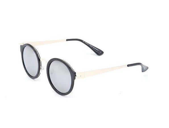 Óculos solar Paul Ryan dourado com preto H01471C1-1
