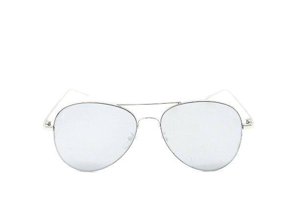 Óculos solar Prorider aviador prata YM4001C7