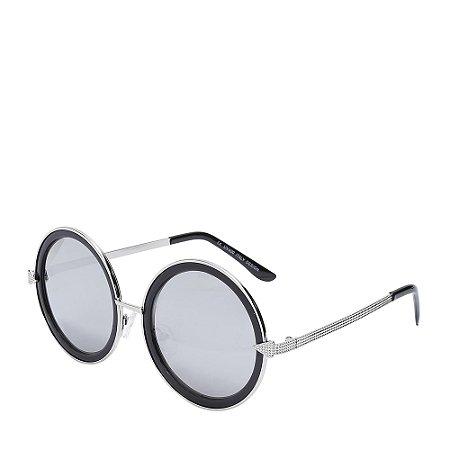 Óculos Solar Prorider Preto&Prata H01421C4
