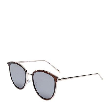 Óculos de Sol Prorider marrom e prata H01539C4