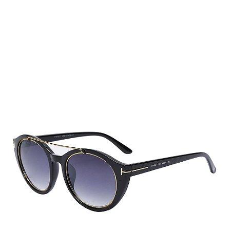 Óculos Solar Prorider Preto&dourado com lente degradê HM7011C1