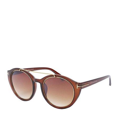Óculos Solar Prorider Marrom Fosco com Lente Degradê - HM7011C5