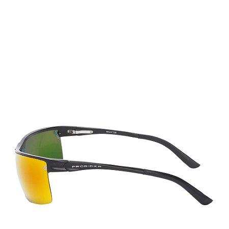Óculos Solar Prorider Preto Fosco com lente degradê L091SC1