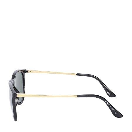 Óculos Solar Prorider Preto&Dourado MEG