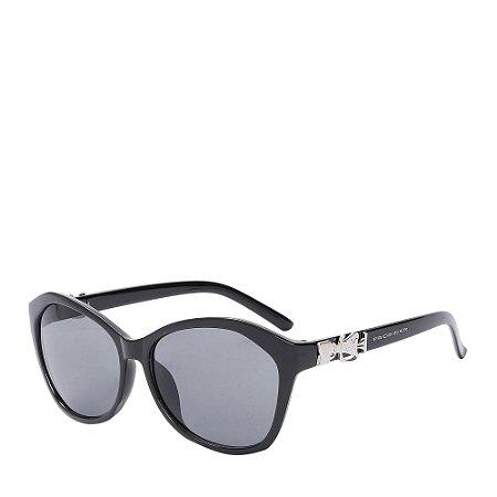 Óculos de Sol Prorider Preto com detalhe prata 7010