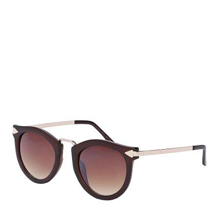 Óculos de Sol Prorider Dourado&marrom com lente degradê CLIODHNA