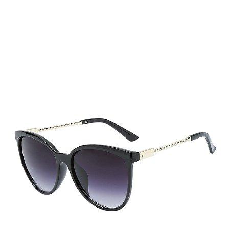 Óculos Solar Otto Preto&dourado 19647