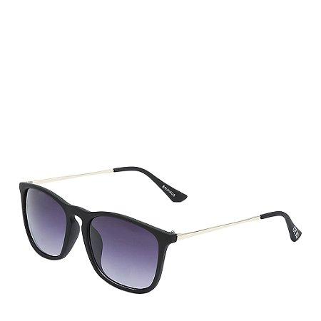 Óculos Solar Otto Preto Fosco&dourado BAUHAUS