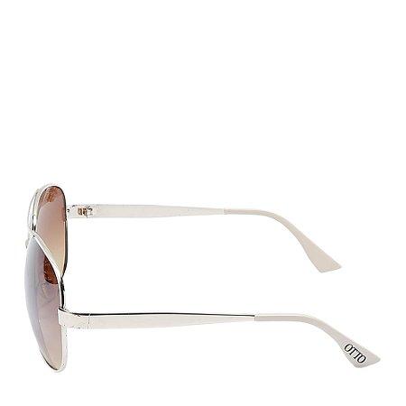 Óculos Solar Otto bege&dourado D8045