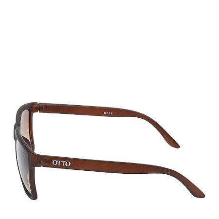 Óculos Solar Otto marrom fosco DEEP