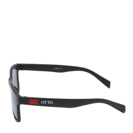 Óculos Solar Otto Preto&vermelho Fosco HEFTY