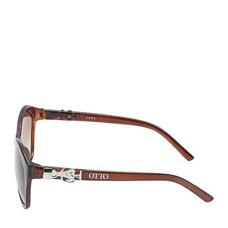 Óculos Solar Otto marrom&dourado JERK