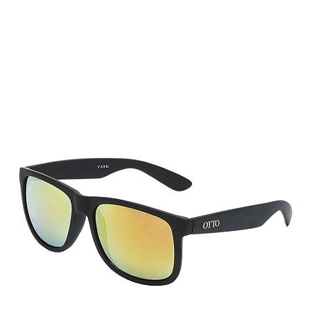Óculos Solar Otto Preto Fosco com lente gradiente YARN