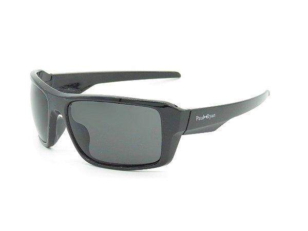 Óculos Solar Paul Ryan Preto Fosco 7400